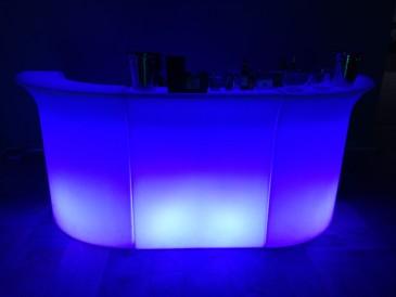 аренда барной стойки с подсветкой