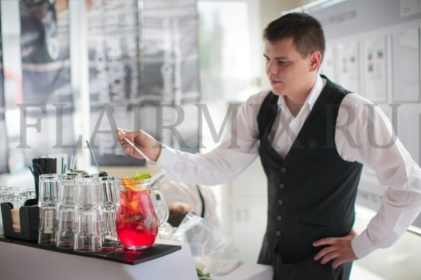 услуги бармена